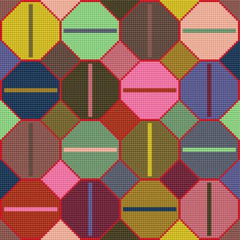 Use Your Stash - Hexagon