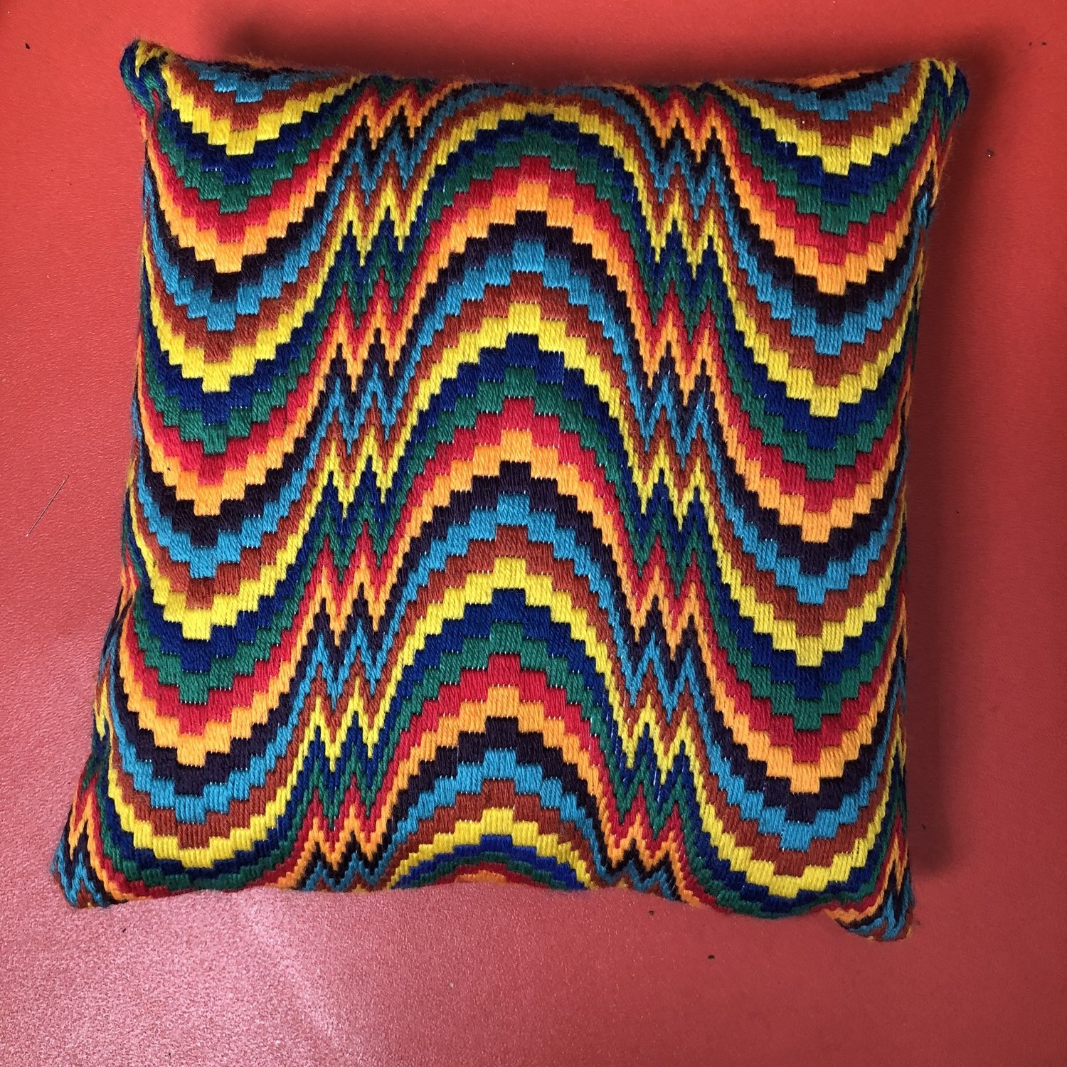Stepping Out  -Bargello Kit