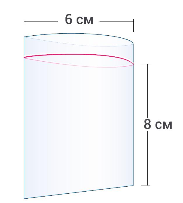 Пакет Zip-Lock 6x8см (500шт)