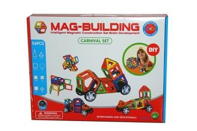 Магнитный конструктор Mag-Building, 56 деталей