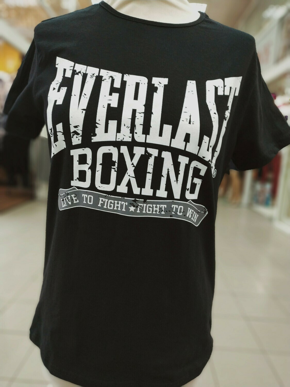 ФУТБОЛКА EVERLAST BOXING чёрная