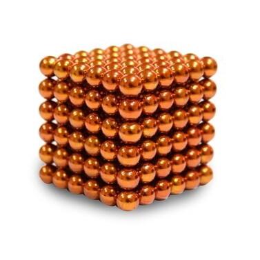 Неокуб 5 мм 6x6x6=216 шт. оранжевый