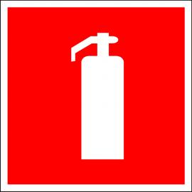 Наклейка Огнетушитель