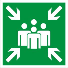 Наклейка Пункт (место) сбора