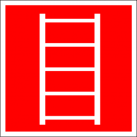 Наклейка Пожарная лестница