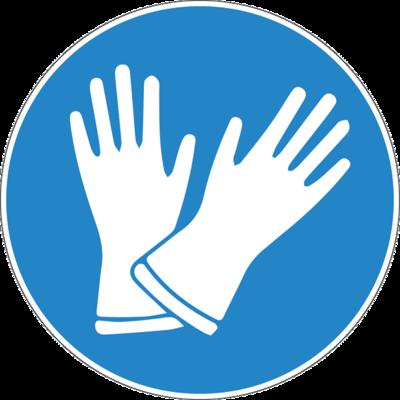 Наклейка Медицинские перчатки
