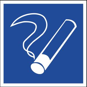 Наклейка Место для курения