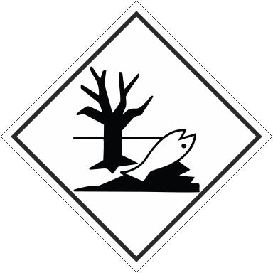 Наклейка Вещество опасное для окружающей среды
