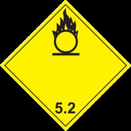 Наклейка Окисляющие вещества 5,2