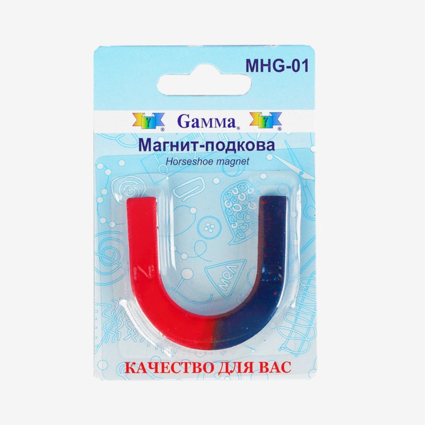Магнит-подкова для опытов Gamma Horseshoe magnet