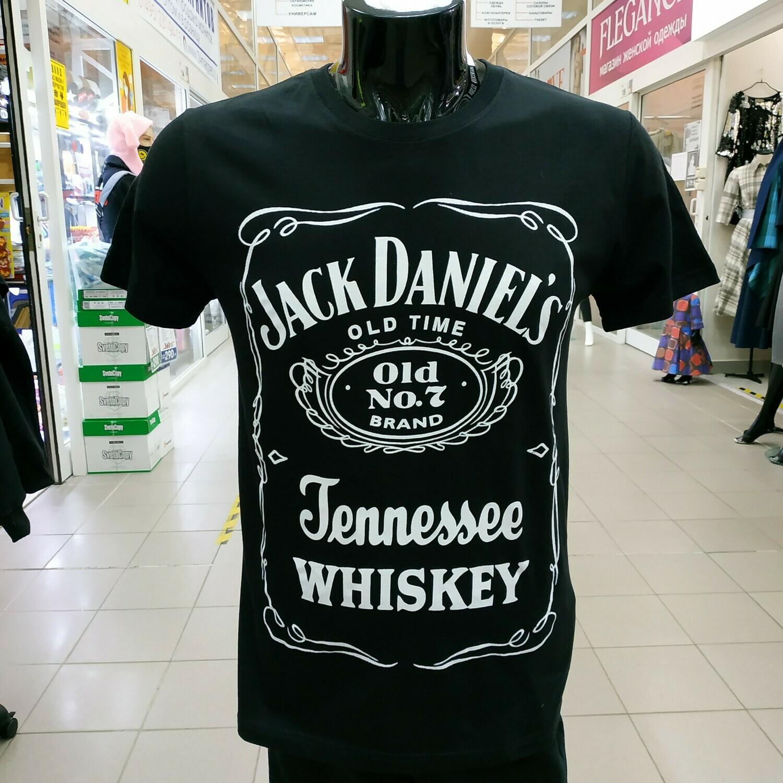 """ФУТБОЛКА """"Jack Daniels"""" черная"""