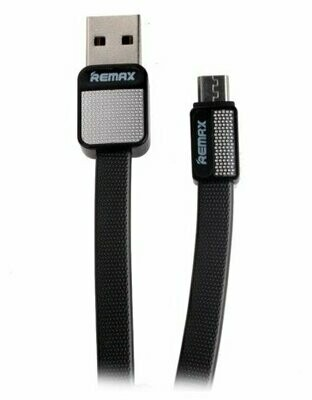 Кабель REMAX MicroUSB - USB Platinum RC-044m 1м чёрный