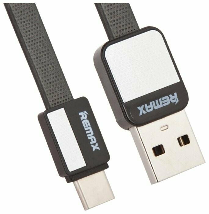Кабель REMAX Type-C - USB Platinum RC-044a 1м чёрный
