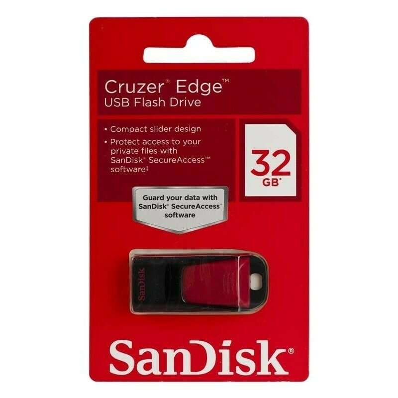 "USB флеш-диск SanDisk ""Cruzer Edge"" 32GB"