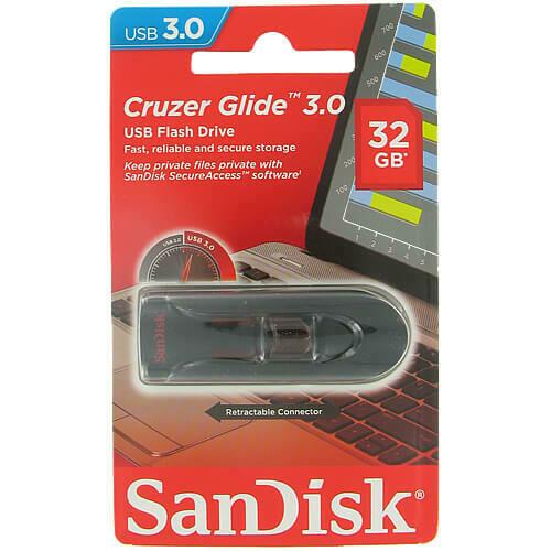"USB флеш-диск SanDisk ""Cruzer Glide"" 32GB"