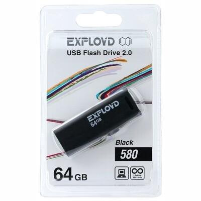 USB Флеш-накопитель 64GB Exployd 580
