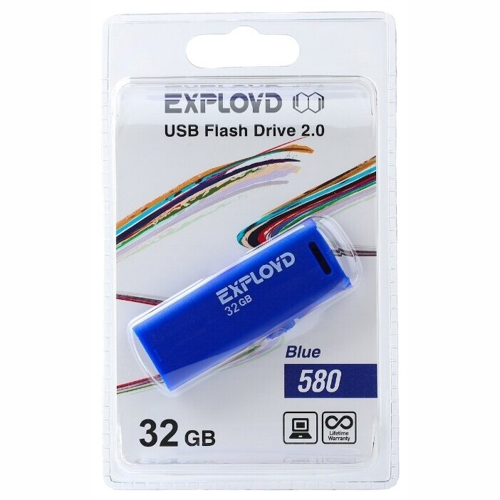 USB Флеш-накопитель 32GB Exployd 580
