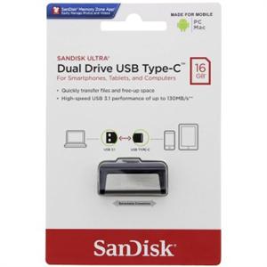 USB Флеш-накопитель  SanDisk 16GB Ultra Dual Drive USB Type-C