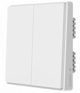 Умный выключатель Xiaomi Aqara Mijia Smart home Light Control Single Fire Doubel key D1