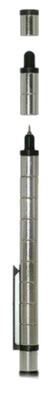 Магнитная ручка Polar Pen + стилус (серебро)