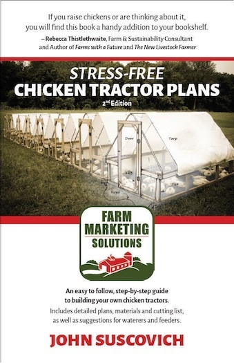 Stress-Free Chicken Tractor Plans, 2nd ed. (ePub)