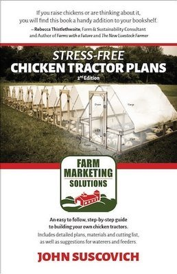 Stress-Free Chicken Tractor Plans, 2nd ed. (paperback)