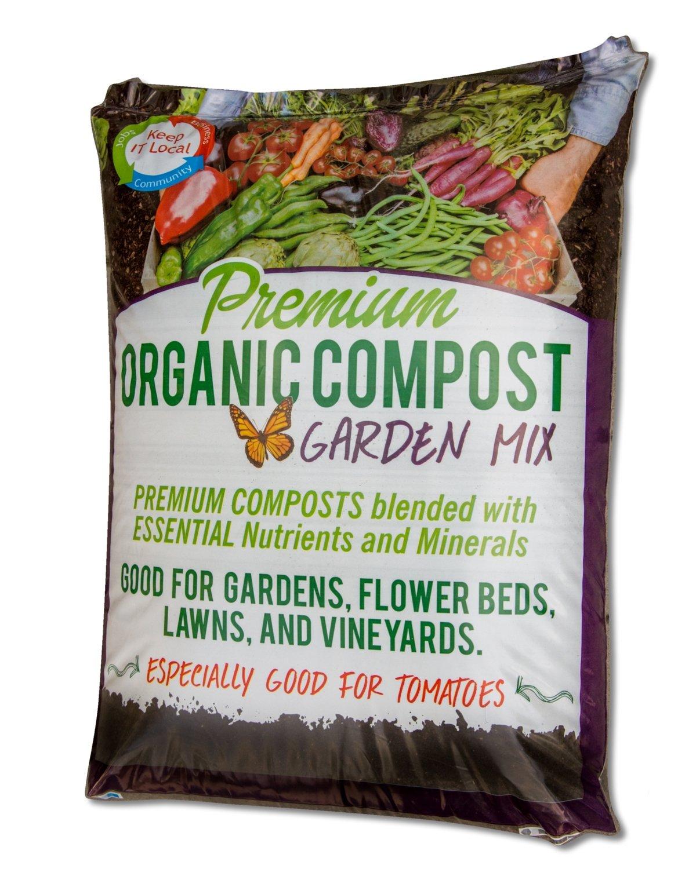 Premium Organic Compost, Garden Mix