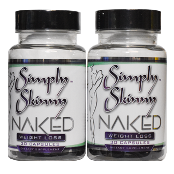 Simply Skinny Naked - 2 Pack Black