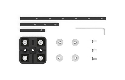 Magnetic Fixing Kit for Tabletop Photography and Wall-Mounting
