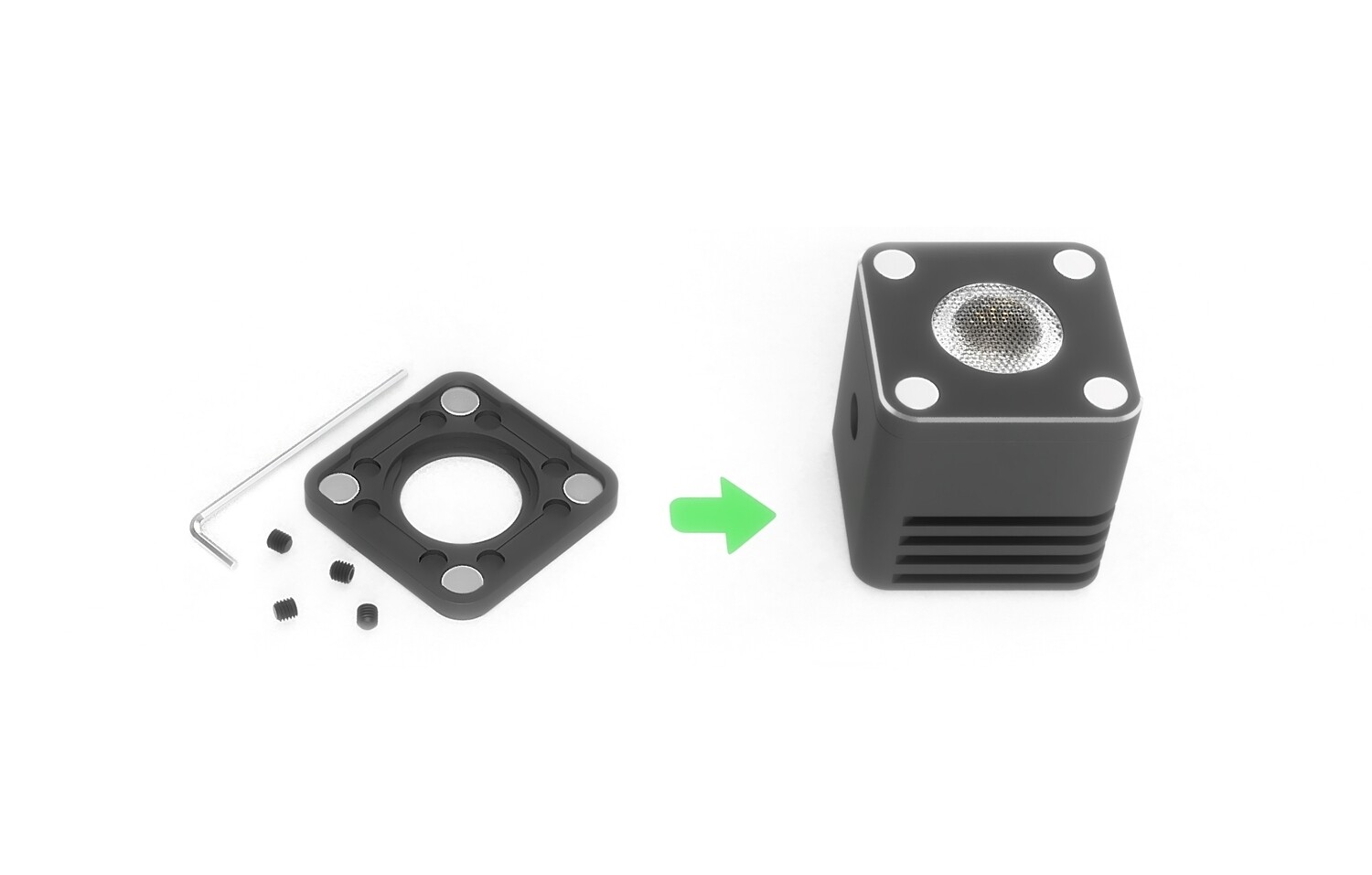 Magnetic Cap Conversion Kit for 2018-2019 Relio² Units