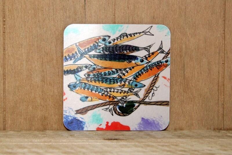 Mackerel placemat
