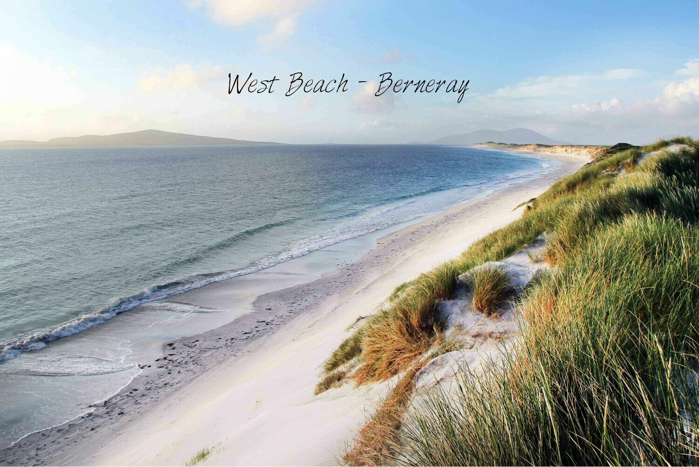 West beach tea towel