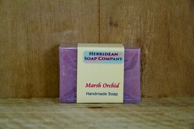 Marsh orchid soap bar
