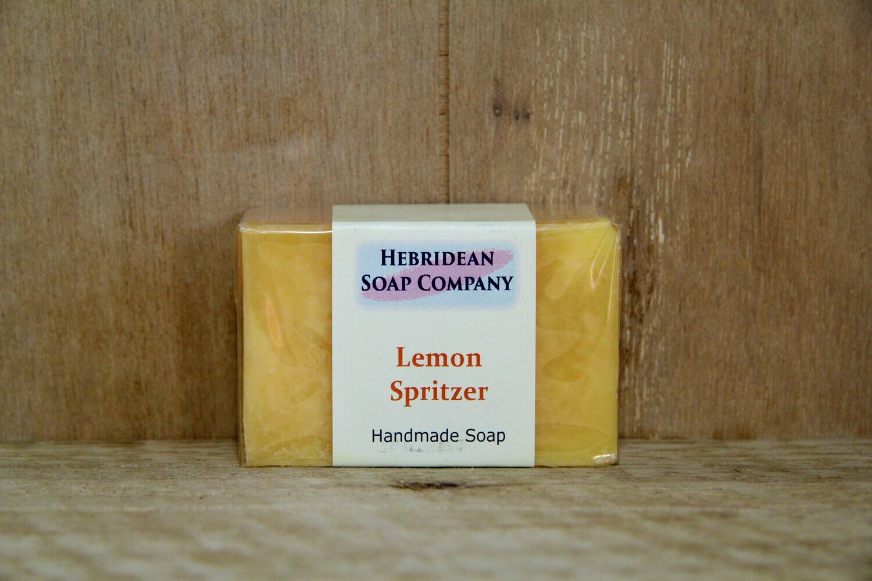 Lemon spritzer soap bar
