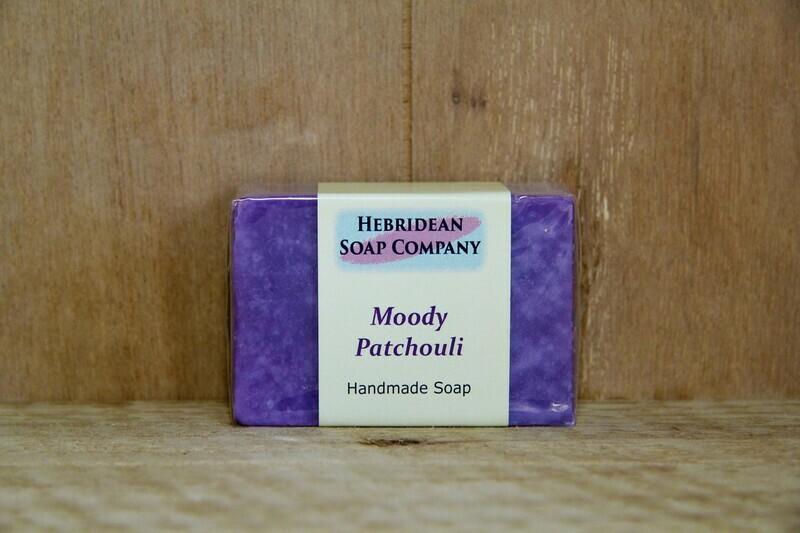 Moody patchouli soap bar