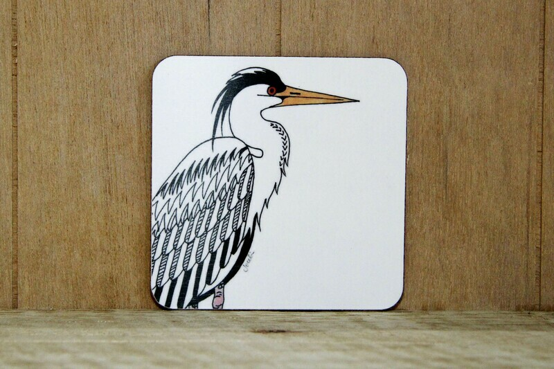 Heron placemat