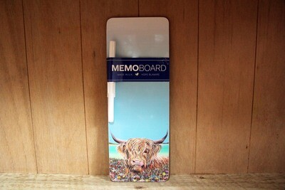 Moorag memo board