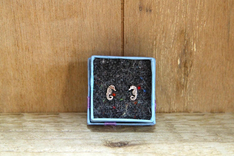 Seahorse earrings