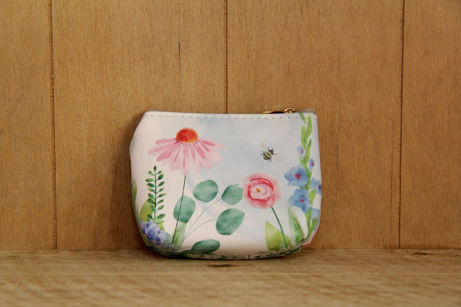 Floral small coin purse