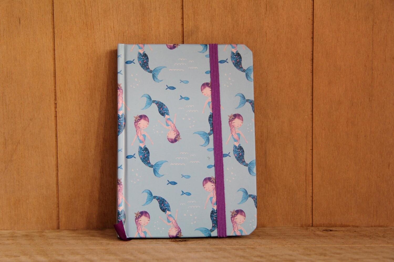 Mermaid A6 notebook