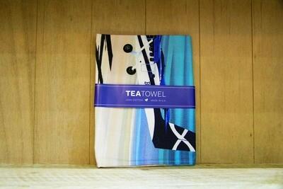 Barra plane tea towel