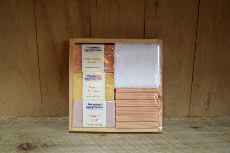 Hebridean soap gift box - A