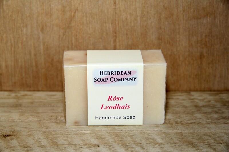 Rose Leodhais soap bar