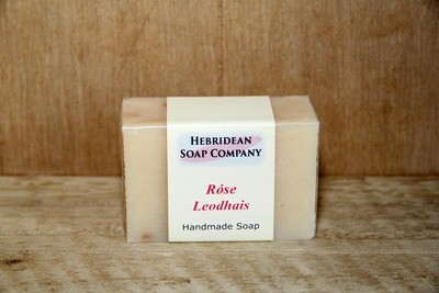 Rose Leodhais soap bar