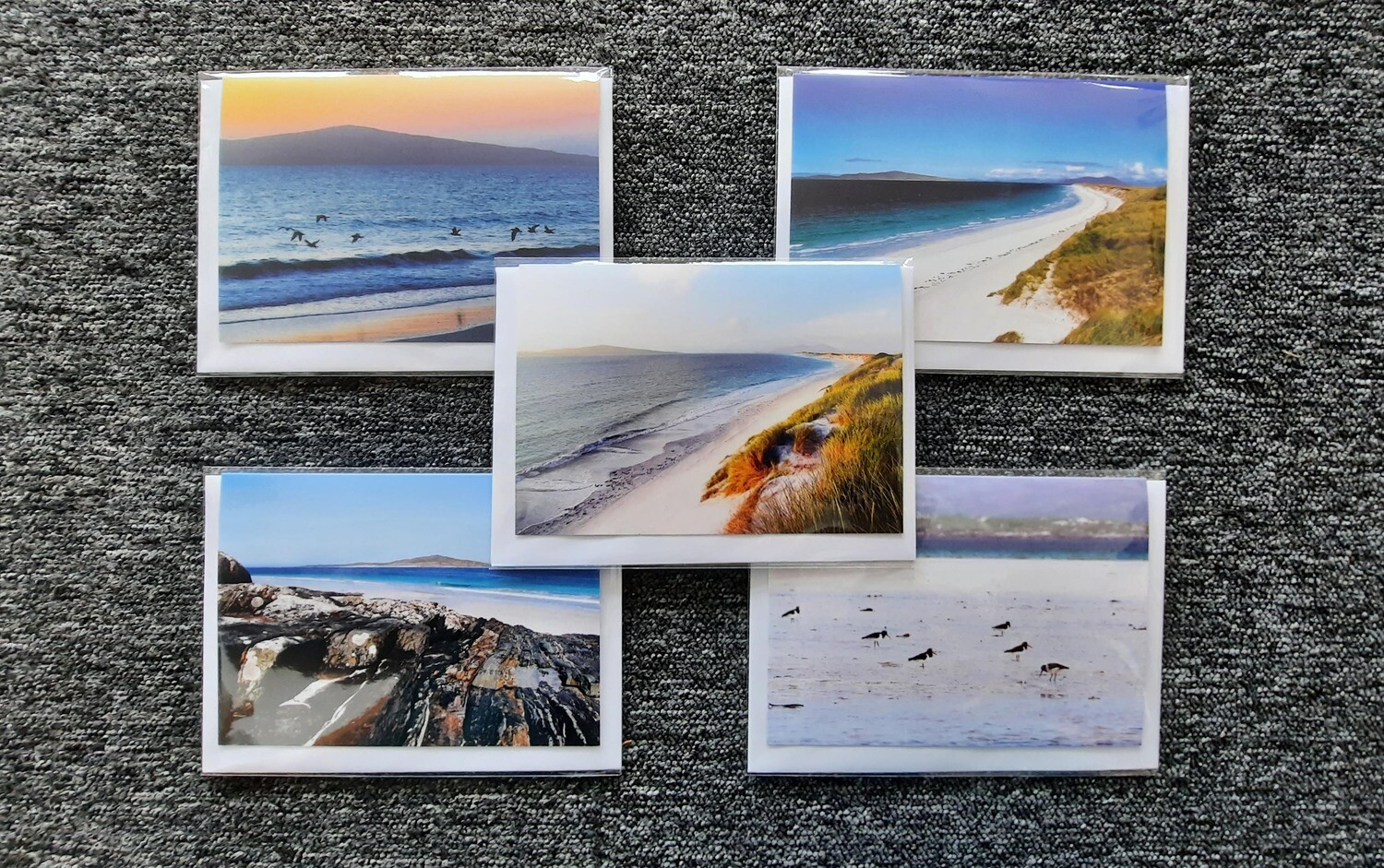 Sea greeting cards- mixed pack of 5