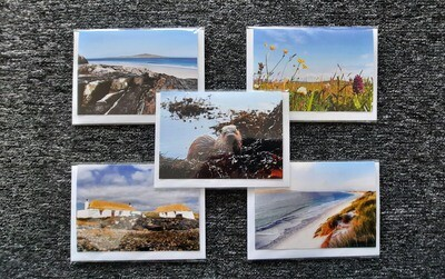 Greeting cards- mixed pack of 5