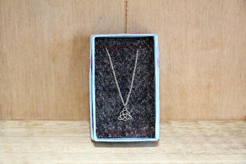 Celtic triangle necklace