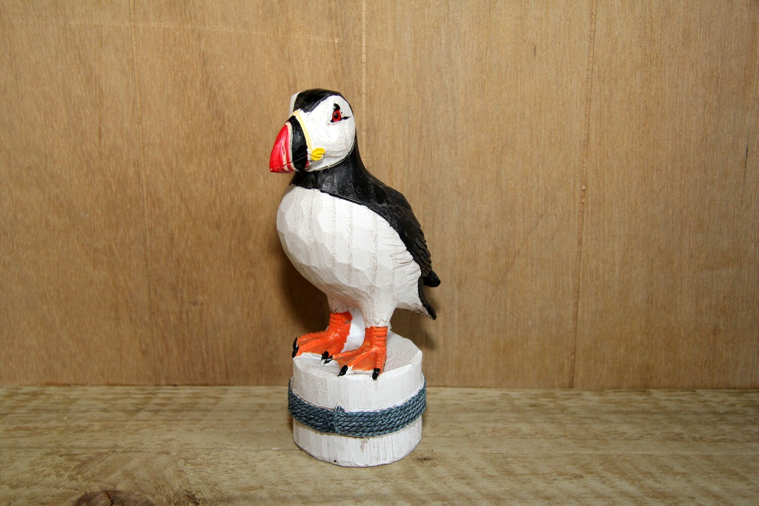 Standing puffin