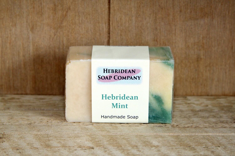 Hebridean mint soap bar