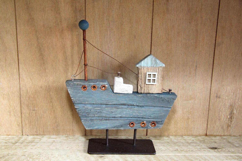 Wooden & metal boat